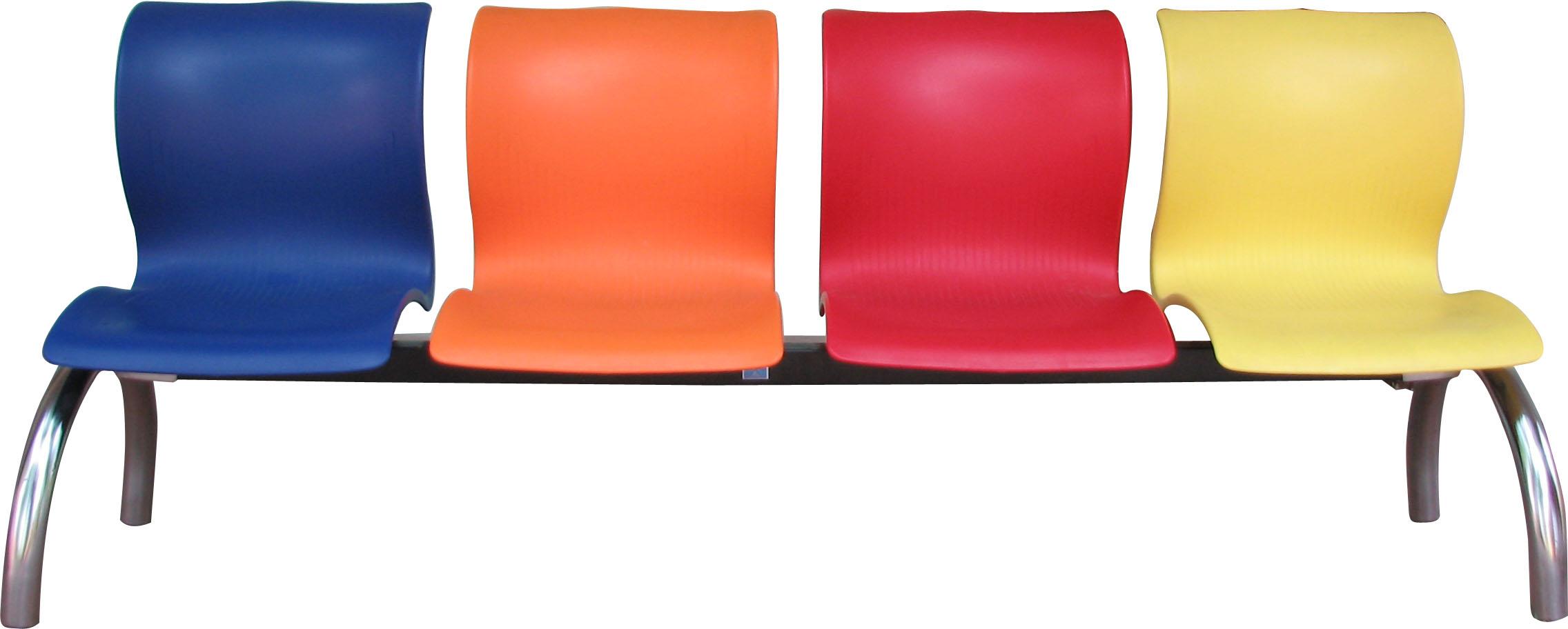 Thiết bị y tế - Inox y tế Ghế ngồi chờ bệnh nhân 4 chỗ