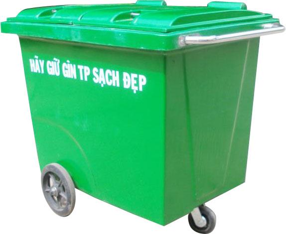 Thiết bị y tế - Inox y tế Xe vận chuyển rác