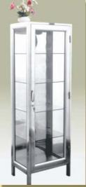 Bàn giao ban inox Tủ kính khung inox